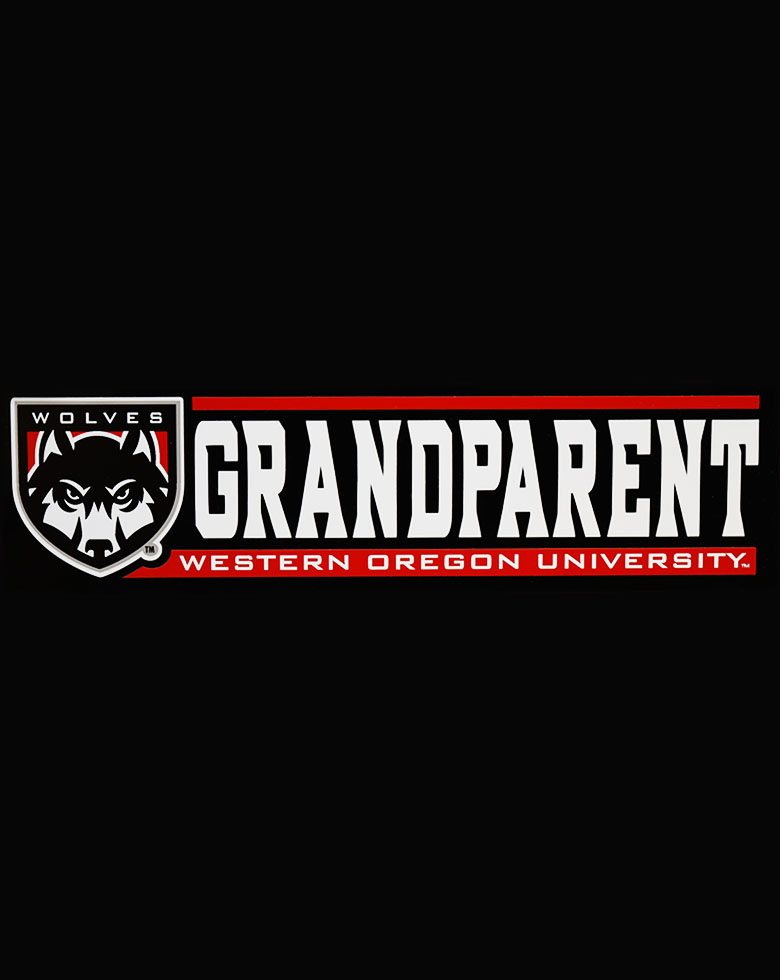 Cover Image For Wolf Grandparent Decal