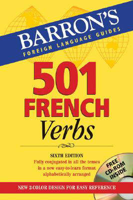Cover Image For 501 French Verbs