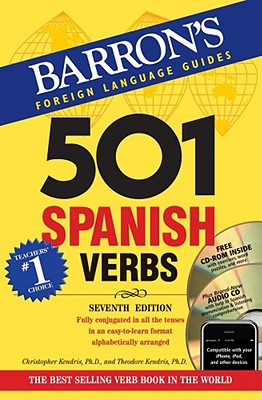 Image For 501 Spanish Verbs